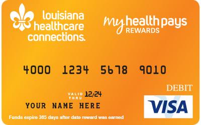 Programa De Recompensas My Health Pays Louisiana Healthcare Connections